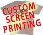 CUSTOMIZED SCREEN PRINTED T-SHIRTS